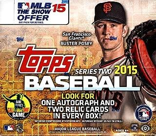 2015 Topps Series 2 MLB Baseball JUMBO box (10 pk)