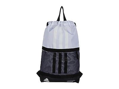 adidas Amplifier II Blocked Sackpack (White/Black) Backpack Bags
