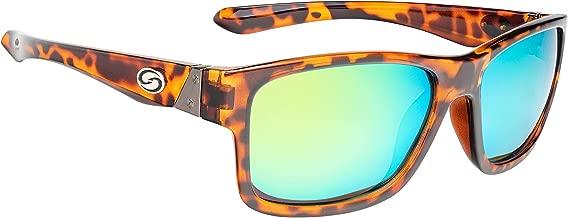 Strike King Lures, Jordan Lee Pro Series Sunglasses, Shinny Tortoiseshell Frame, Amber Lens