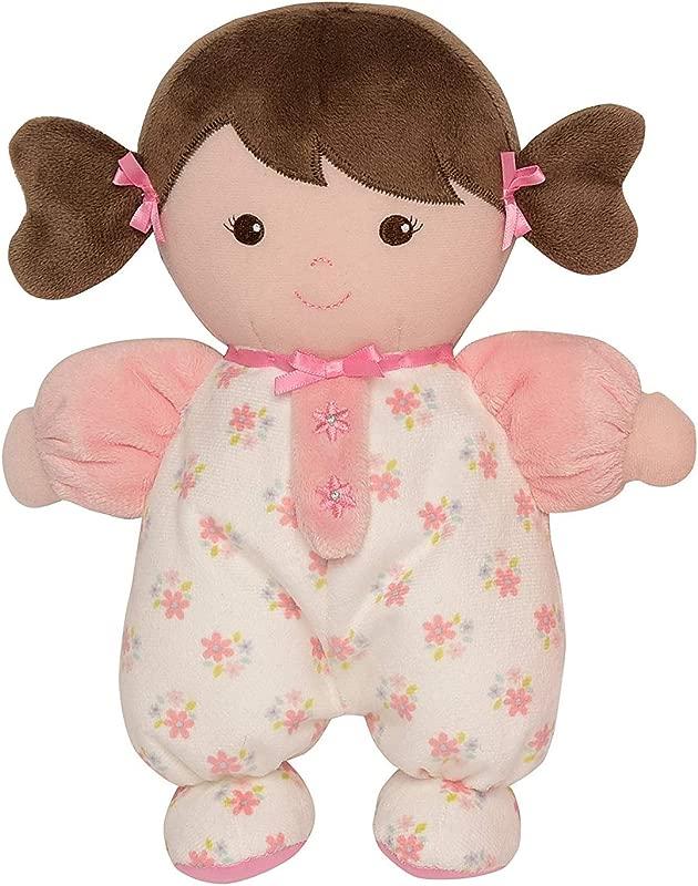 Baby Starters Brunette Olivia Doll Pink