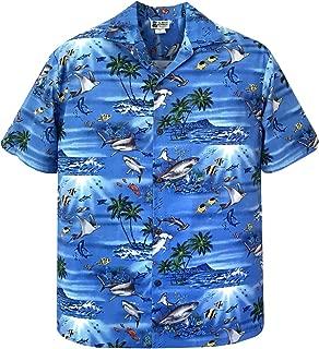 Great White Hammerhead Shark Stingray Hawaiian Shirt