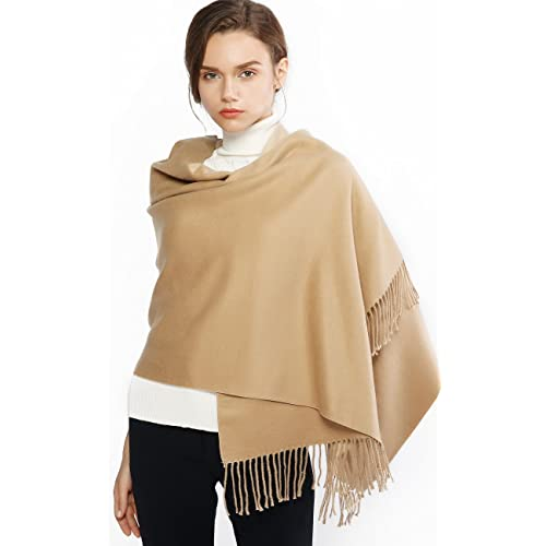 Designer Inspired Ladies The Herme Horse Pashmina Cashmere Lightweight Knit Cape
