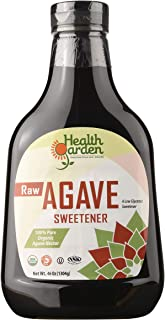 Health Garden Agave Nectar - Raw Organic Kosher (Raw, 46 OZ)