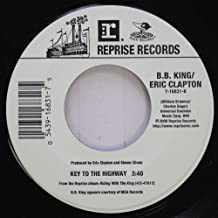 B.B. King/Eric Clapton 45 RPM Key to the Highway / Riding with the King