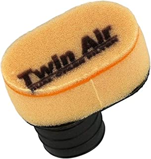 Twin Air 151601 Oval Style Universal Clamp-On Dual Stage Foam Air Filter