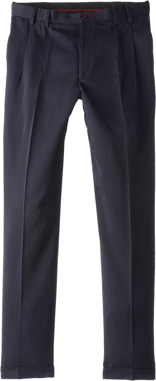 IZOD Men's Big/Tall Pleated Traveler Dress Pant