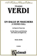 Un ballo في maschera: الإيطالي ، إصدار اللغة باللغة الإنجليزية ، vocal تسجل (إصدار kalmus) (إصدار الإيطالي)