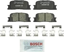 Bosch BC885 QuietCast Premium Ceramic Disc Brake Pad Set For: Lexus ES300, ES330; Toyota Camry, Highlander, Rear