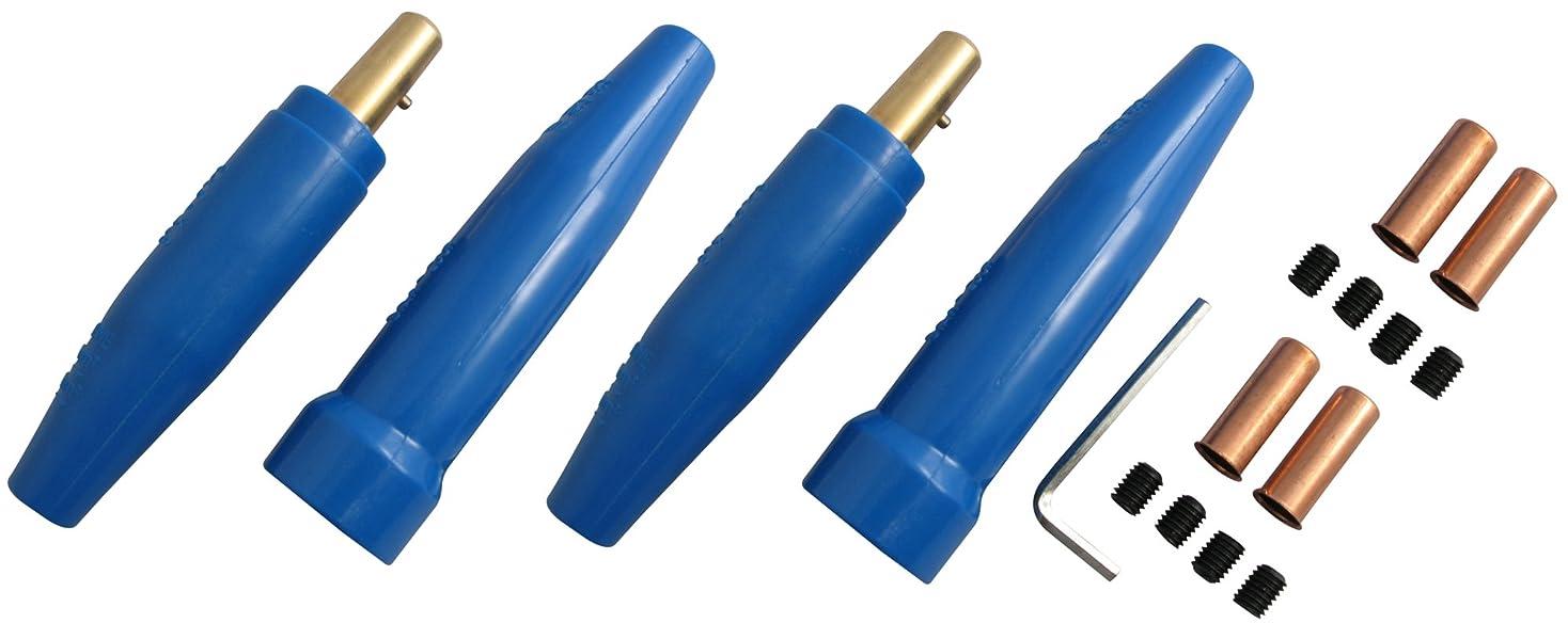 リルバッフル期間スター電器製造(SUZUKID) M型プラグ?ソケット P-304X 差込角:38mm 2組