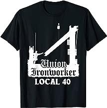 Union Ironworker Local 40 NYC New York Shirt
