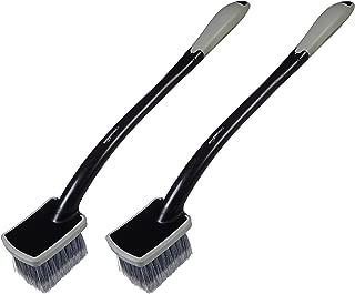 AmazonBasics Long Handled Wheel Car Brush, 2 Pack