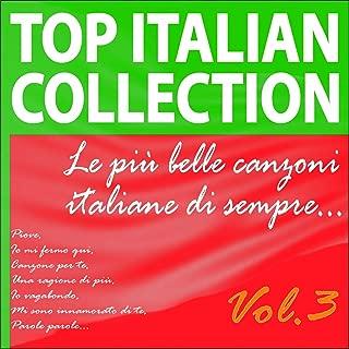 Top Italian Collection... Le più belle canzoni italiane di sempre..., Vol. 3 (Piove, Io mi fermo qui, Canzone per te, Una ragione di più, Io vagabondo, Mi sono innamorato di te, Parole parole...)