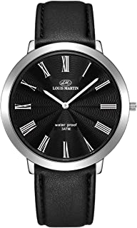 Louis Martin Men's Watch Round