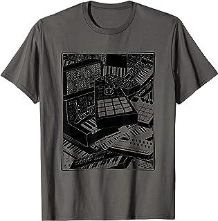 Hombre Sintetizador para Músico electrónico Camiseta
