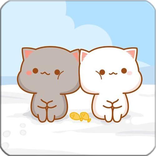 Hintergrundbilder von Kawaii Cats für Bildschirm