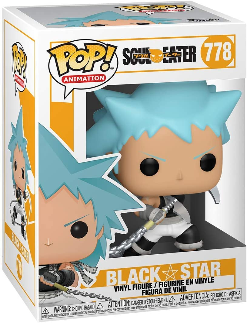 Multicolor Black Star Funko Pop Animation: Soul Eater 3.75 inches