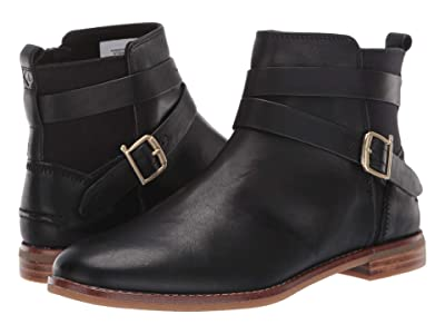 Sperry Seaport Shackle Leather Boot (Black) Women