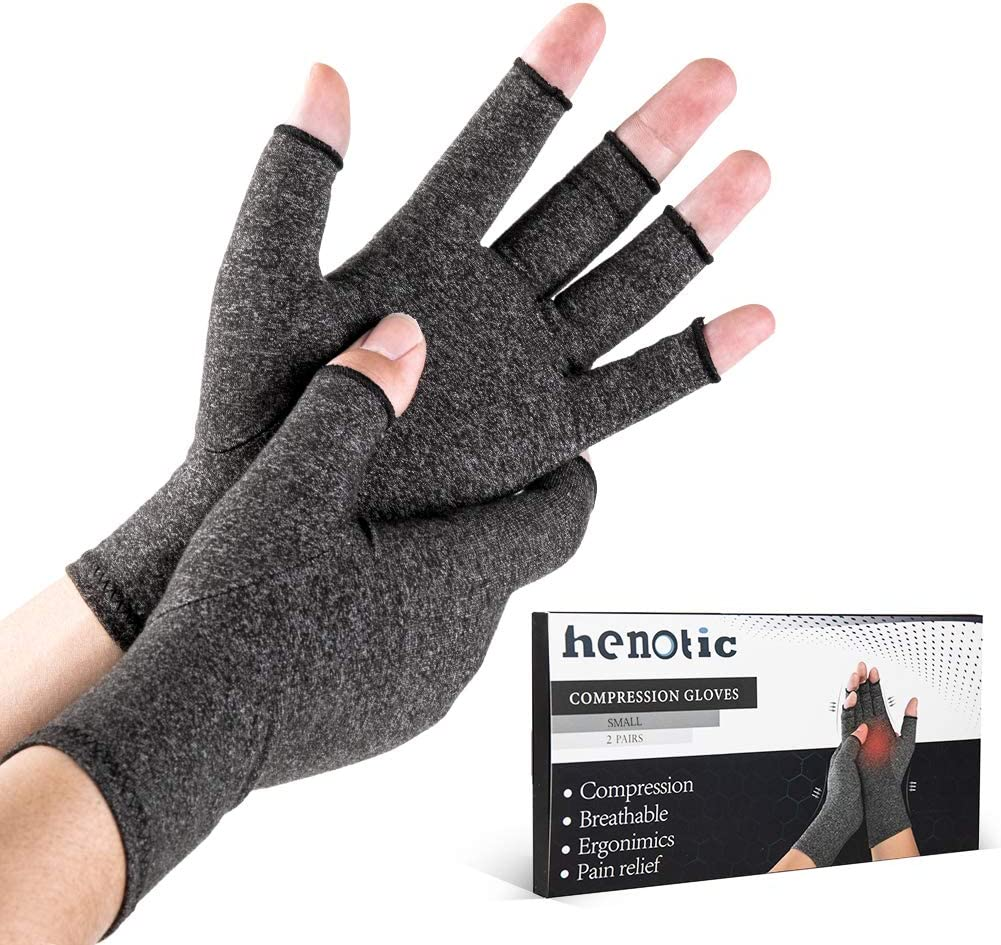 2 Pairs Arthritis Compression Gloves Women Men for Fingerless B Special Popular shop is the lowest price challenge price a limited time
