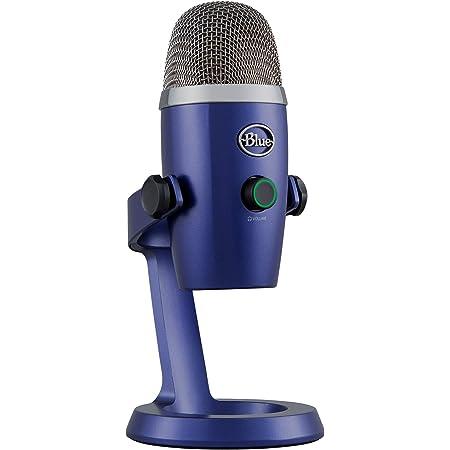 Blue Microphones Yeti Nano Usb Mikrofon Für Aufnahme Und Streaming Auf Pc Und Mac Verstellbares Stativ Plug Und Play Musikinstrumente