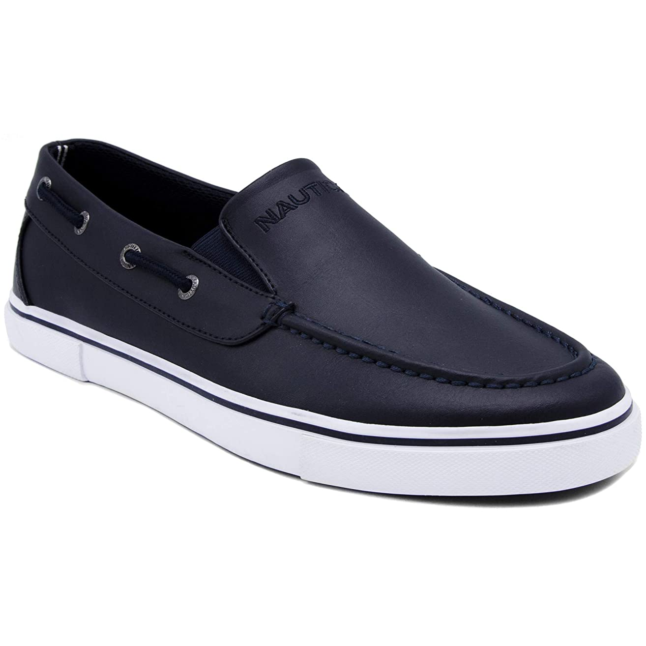 Nautica Men's Doubloon Boat Shoe Slip-On Loafer