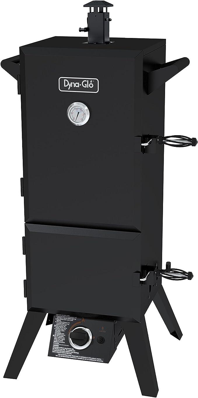 Dyna-Glo DGY784BDP Vertical LP Gas Smoker – Best High-Efficient Smoker