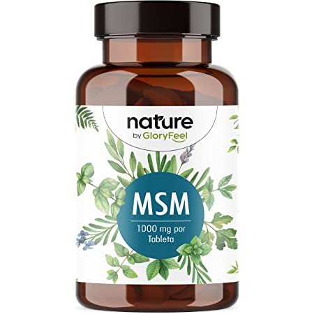 MSM 365 Tabletas Veganas + Vitamina C natural - 2000mg polvo de azufre con Vitamina C de Acerola para una mejor absurbation - Antiinflamatorio muscular + Articulaciones - Producción sin aditivos