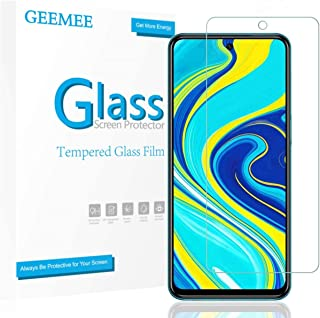 【2枚セット】GEEMEE Xiaomi Redmi Note 9s/Poco X3 NFC フィルム 強化ガラス 液晶保護フィルム 日本旭硝子素材製 業界最高硬度9H 全面吸着 指紋認証対応 高透過率 高光沢 耐指紋 飛散防止 Redmi N...
