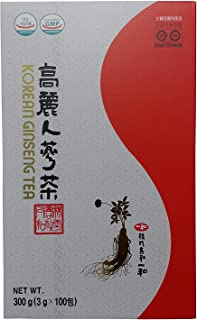 ILHWA 300g Korean Ginseng Roots Extract Tea, High Ginsenoside Rg1+Rb1+Rg3=10mg