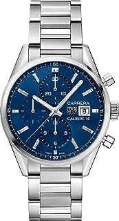 Tag Heuer Carrera Blue Dial Men's Chronograph Watch CBK2112.BA0715