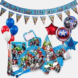 Best captain america birthday invitation Reviews
