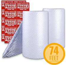Bubble Cushioning Wrap Roll 2 Pack 3/16