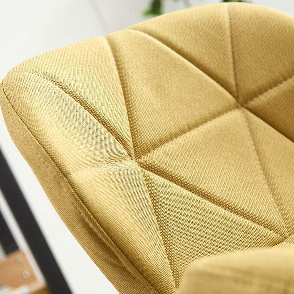 WXF Chaise de Bureau Pivotante, Ergonomie Tabouret de Maquillage Ménage Siège Relevable Pieds en Acier Peint Fauteuil de Conférence (Color : Green) Green