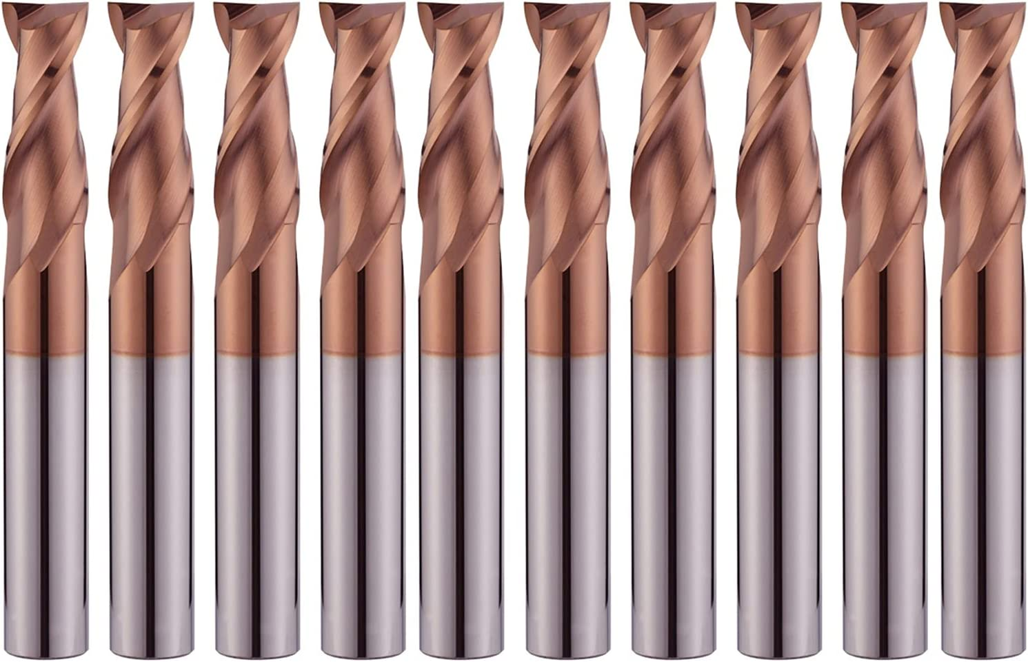 Metal 2 Flutes HRC55 Carbide End Atlanta Outstanding Mall Milling Keyseat Cut Cutter Mill