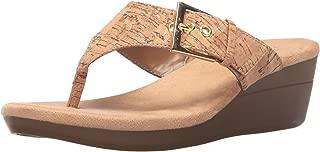 Women's Flower Wedge Sandal