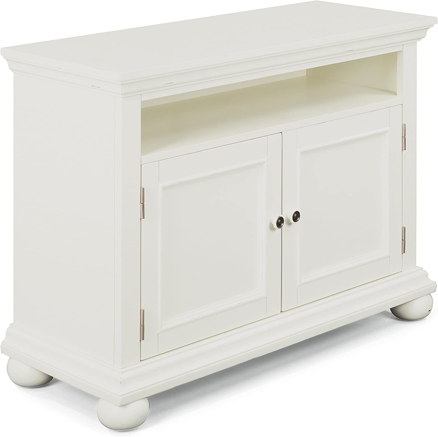 Dover White Super-cheap Entertainment Stand 5 ☆ very popular Styles Home by