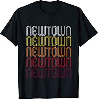 Newtown, CT | Vintage Style Connecticut T-shirt