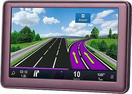 7 inch 8GB Navigation System for Cars, Car GPS Spoken Turn- to-Turn Vehicle GPS Navigator, Lifetime Map Updates