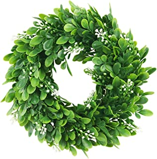 10 inch green wreath