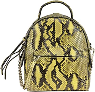 Luxury Fashion | Orciani Womens MCGLBRE000006110I Yellow Backpack | Season Outlet