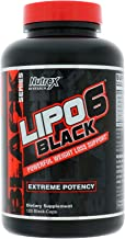 Nutrex LIPO 6 Black Extreme Fat Burner Destroyer 120 caps Diet Weight Loss Support New DMAA-Free Legal Version Estimated Price : £ 26,99
