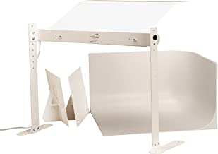 MyStudio MS20 Professional Tabletop Photo Studio Lightbox Kit with 5000K Lighting for Product Photography