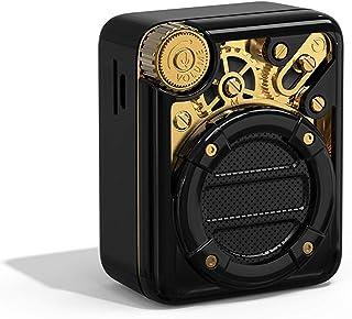 DIVOOM ACDIVESPBLK Espresso Mini Pocket Friendly Retro Look Bluetooth Speaker - Black (Pack of 1)