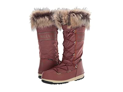 MOON BOOT Moon Boot(r) Monaco WP 2 (Rust) Women