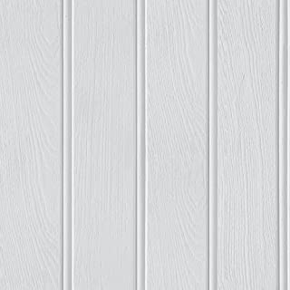 Arthouse Tongue & Groove Effect Wallpaper – Grey Wood Grain - Photographic Design – Rustic – Wood Slat Look - for Living S...