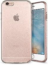 Spigen Liquid Crystal Desgined for Apple iPhone 6s Case(2015) / Designed for iPhone 6 Case(2015) - Glitter Rose Quartz