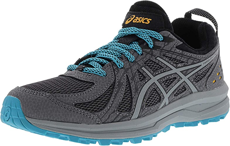ASICS Wohommes Frequent Trail Carbon Stone gris Ankle-High Running chaussures - 5.5M