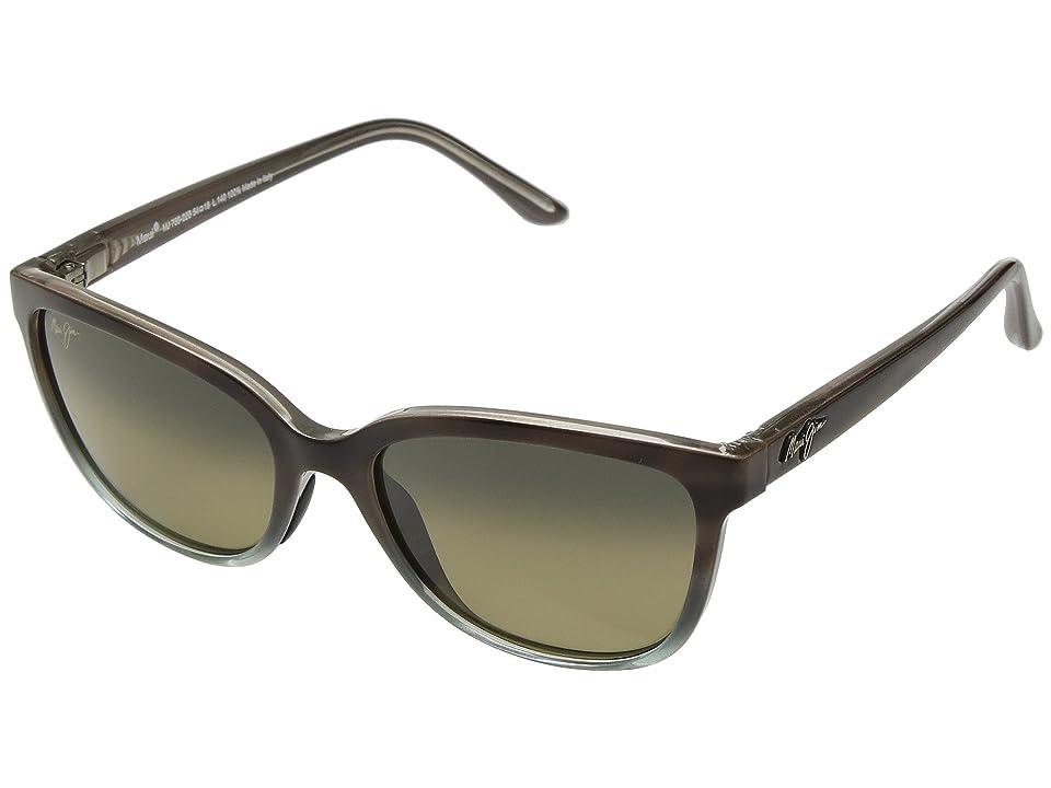 Maui Jim Honi (Sandstone/Blue) Athletic Performance Sport Sunglasses