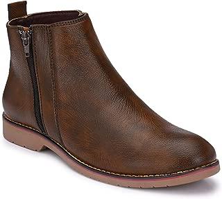 FENTACIA Men Side Chain Boots