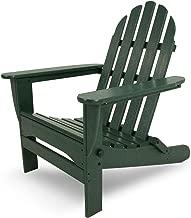 POLYWOOD AD5030GR Classic Folding Adirondack Chair, 38.5
