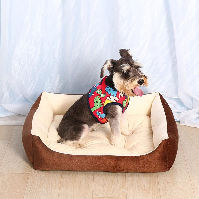 Dixinla Pet Bed Kennel Dog Bed Cushion Washable pet nest cat Nest